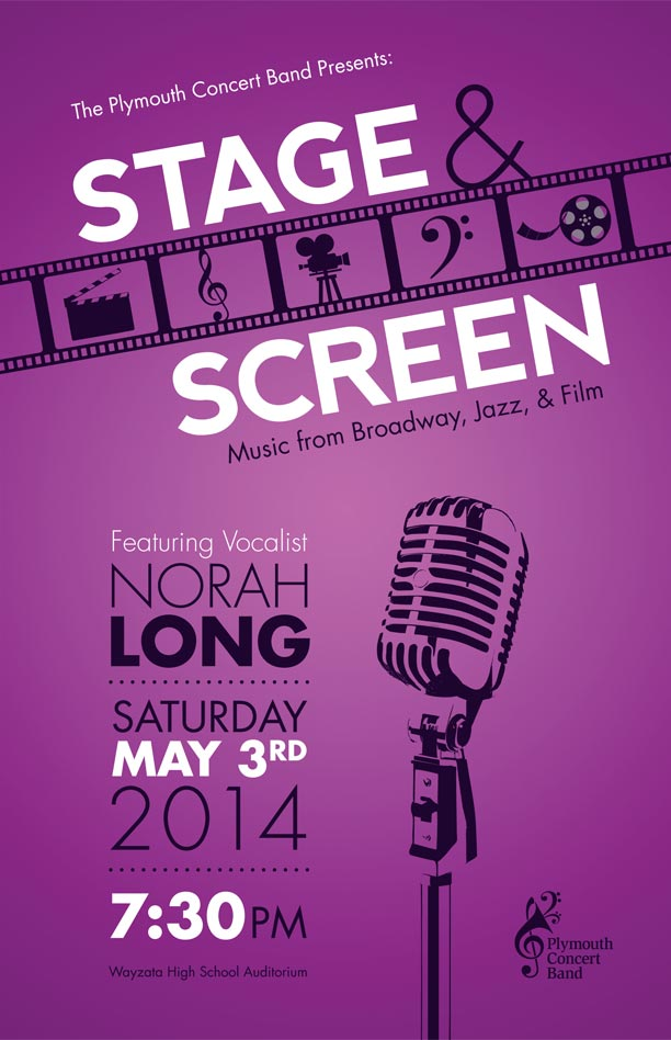 Stage & Screen Program Cover