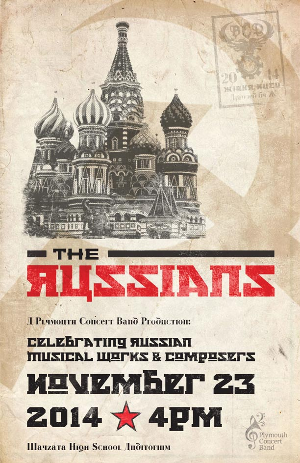The Russians Program Cover